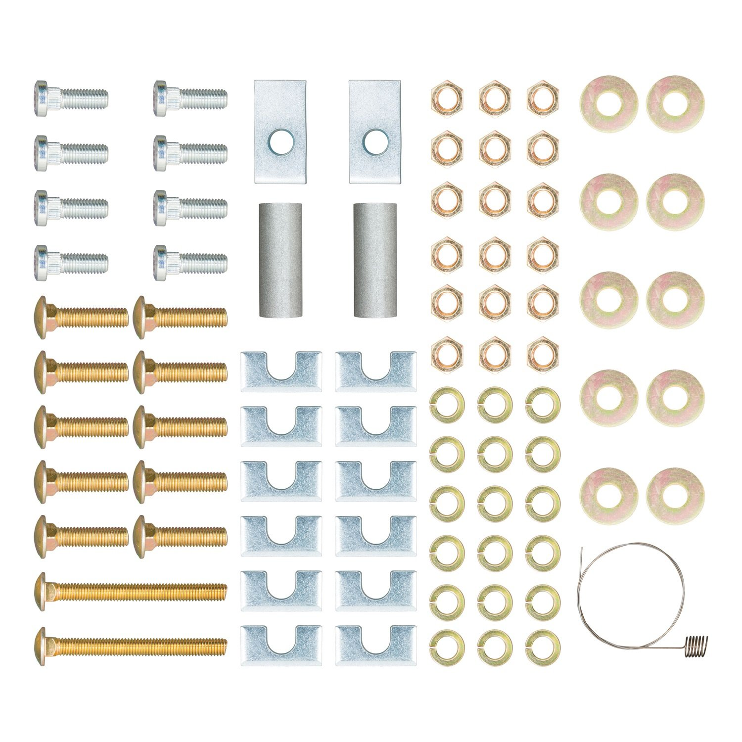 CURT 16111 Universal 5th Wheel Hardware Kit for Rails and Brackets by CURT
