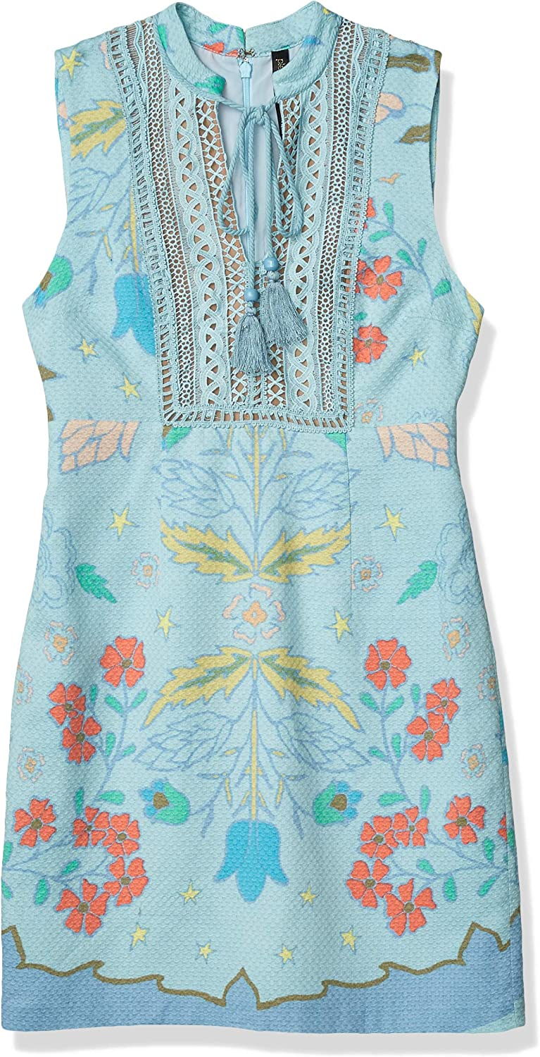 Plenty by Tracy Reese Womens Lace Inset Shift Dress