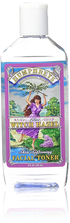 Humphrey's, Skin Softening Facial Toner, Lilac Witch Hazel, Alcohol Free, 8 fl oz (237 ml) B0011DFZ5U