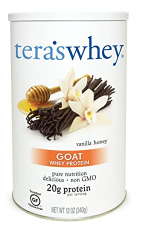 Tera s Whey Goat Protein, Vanilla Honey, 12 oz