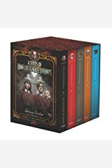 A Series of Unfortunate Events #5-9 Netflix Tie-in Box Set Hardcover