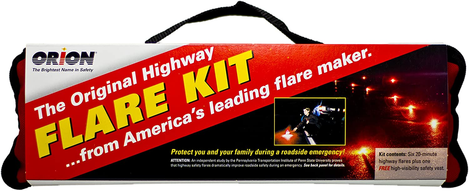 Pack of 6 6020 Orion Safety Products 20-Minute Flare,