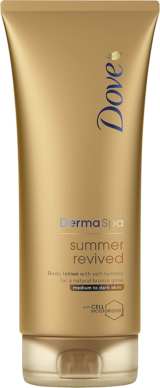 Dove Derma Spa Summer Media Resucitado a Dark Skin Body Lotion 200 ml