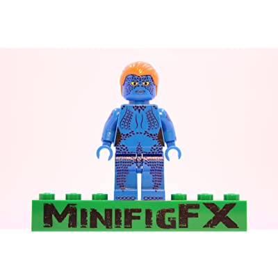 LEGO Mystique Minifig Marvel X-Men Mutant Raven Darkhölme: Toys & Games
