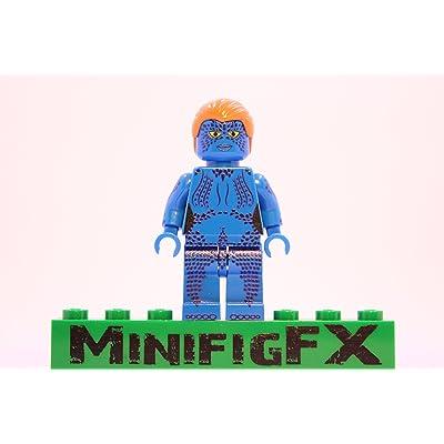 LEGO Mystique Minifig Marvel X-Men Mutant Raven Darkhölme: Toys & Games [5Bkhe0300044]