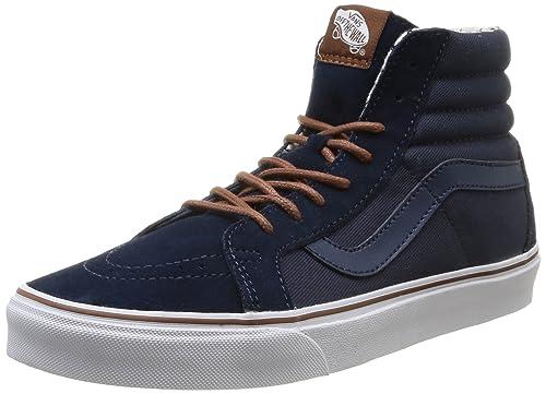 6caa4a446c Vans Unisex Adults  Sk8-hi Reissue High-Top Sneakers  Amazon.co.uk ...