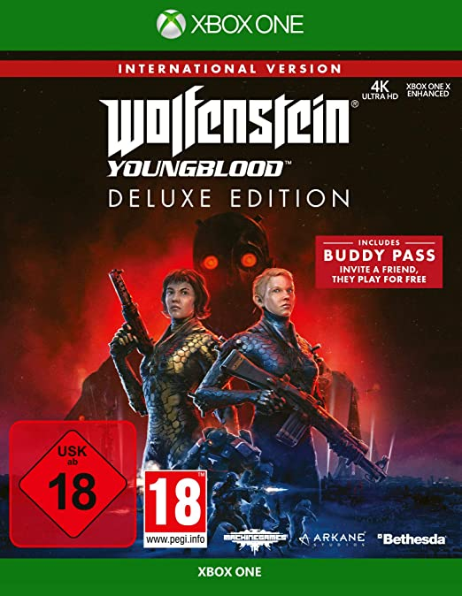 Wolfenstein: Youngblood - Deluxe Edition (Internationale Version ...