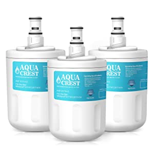 AQUACREST Replacement 8171413 Refrigerator Water Filter, Compatible with Whirlpool 8171413, 8171414, EDR8D1, Kenmore 46-9002 (Pack of 3)