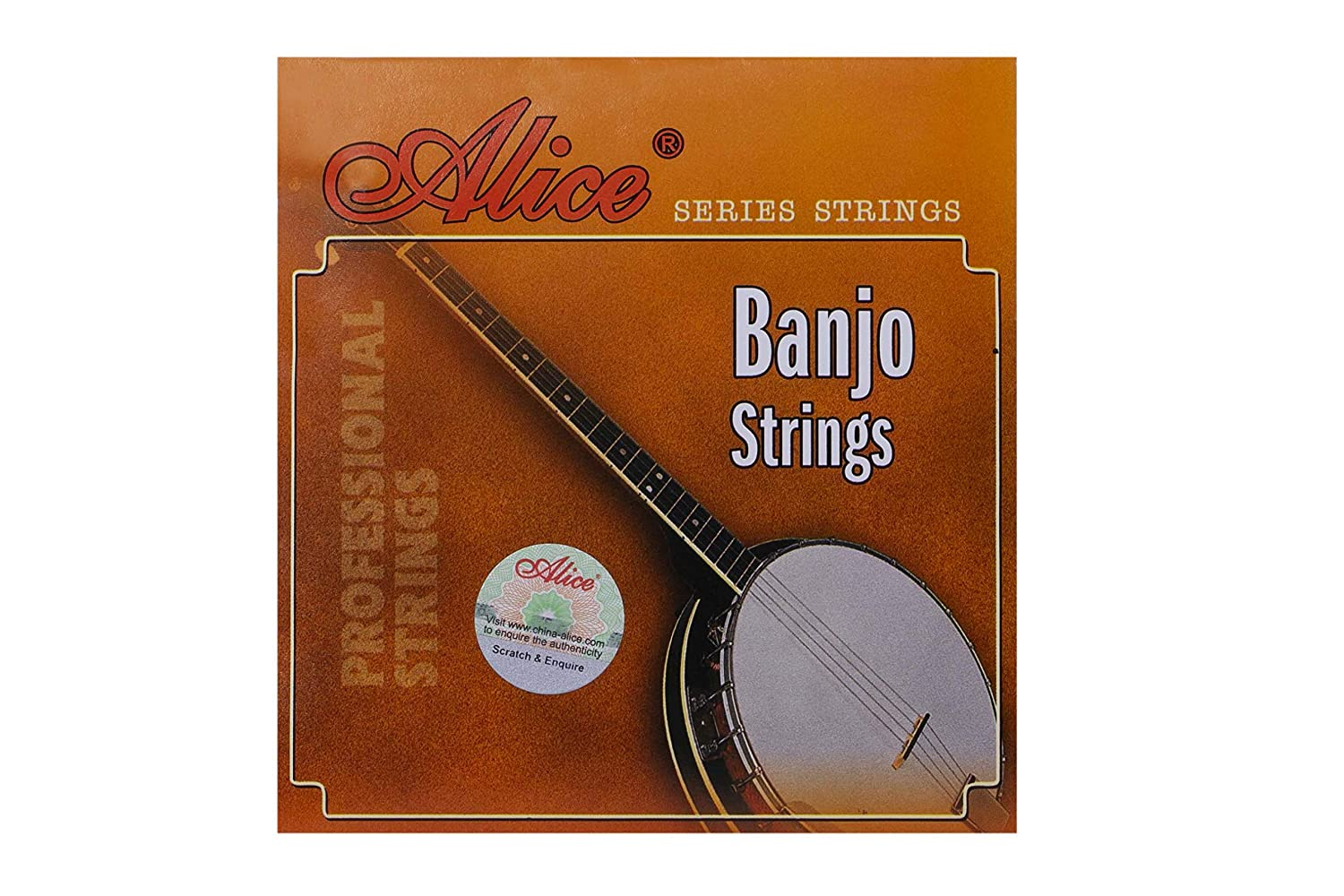 Alice .009 .016 .023 .030 4-String Plectrum Banjo Strings Light, 3 Sets