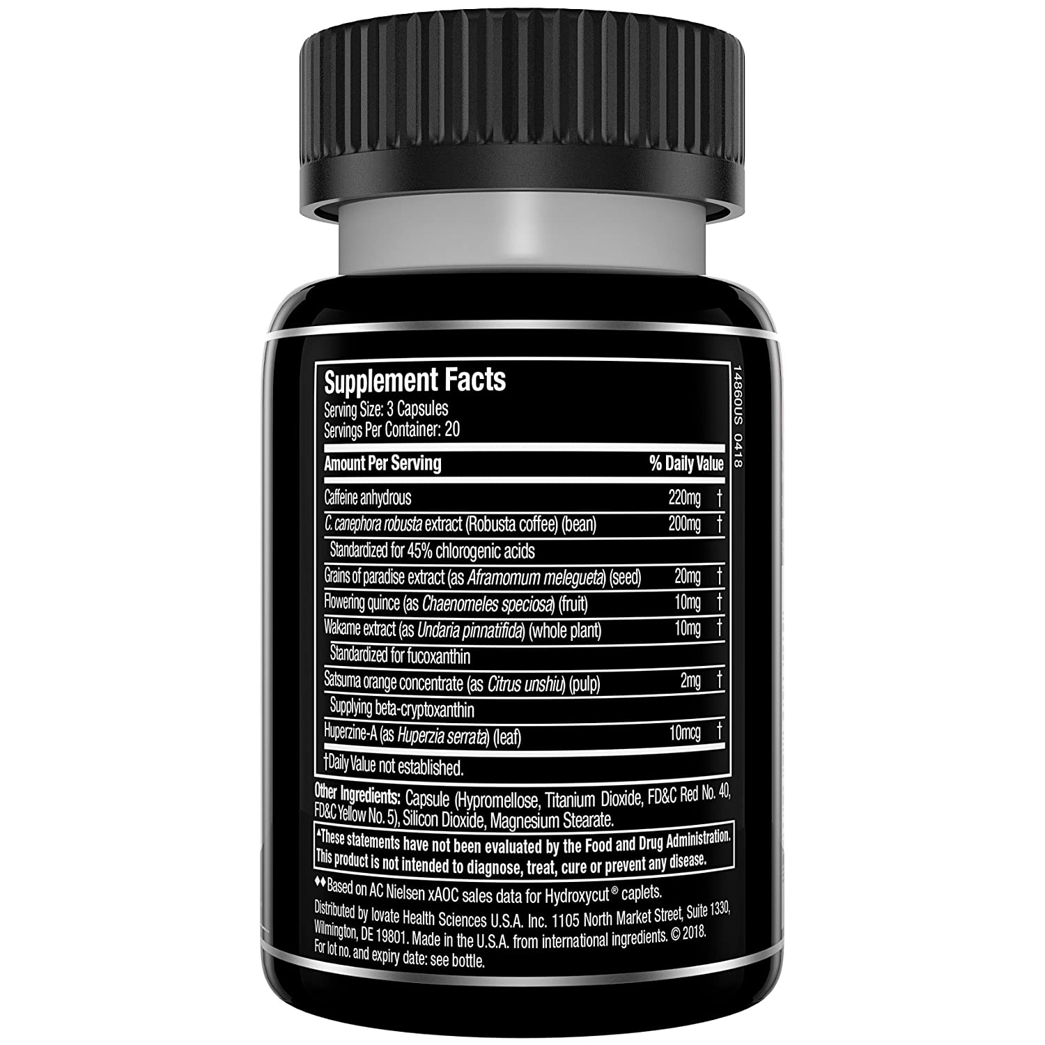 Amazon Com Hydroxycut Slay Weight Loss Diet Supplement