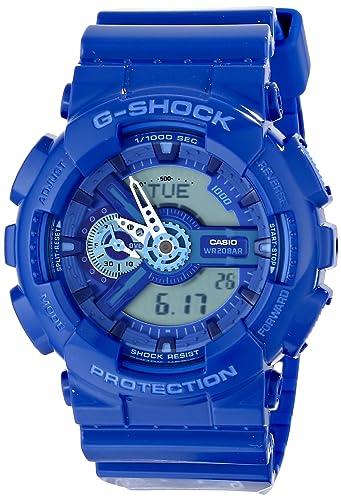Casio G-Shock - Reloj de pulsera para hombre ga110bc-2 a Azul: Casio: Amazon.es: Relojes