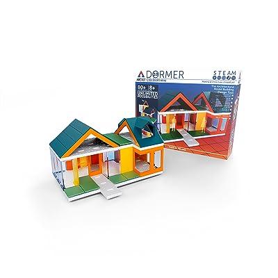 Mini Dormer Colours 2.0 Kids Scale Model Building Kit: Toys & Games