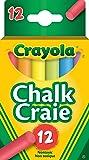 Crayola 12 Colourex Coloured Chalk
