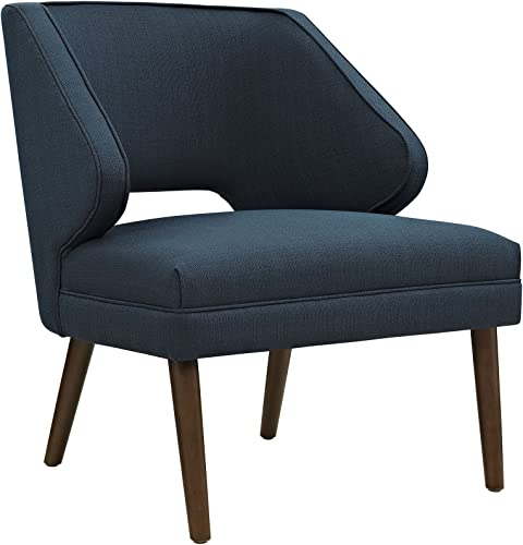Modway Dock Mid-Century Modern Upholstered Fabric Accent Arm Lounge Chair
