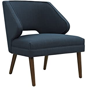 Modway EEI-2149-AZU Dock Mid-Century Modern Upholstered Fabric Accent Arm Lounge Chair Azure