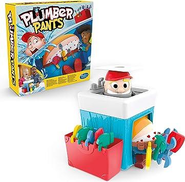 Hasbro- Plumber Pants, Divertido Juego Interior para niños a ...