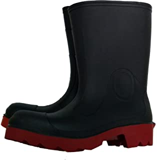 """N3822148-7 Servus by Size 7 Neoprene III Brown 12"""" Neoprene and Latex Boots with Neo-Grip Outsole and Steel Toe English 15.34 fl. oz. Volume Plastic 12 x 1 x 1"""
