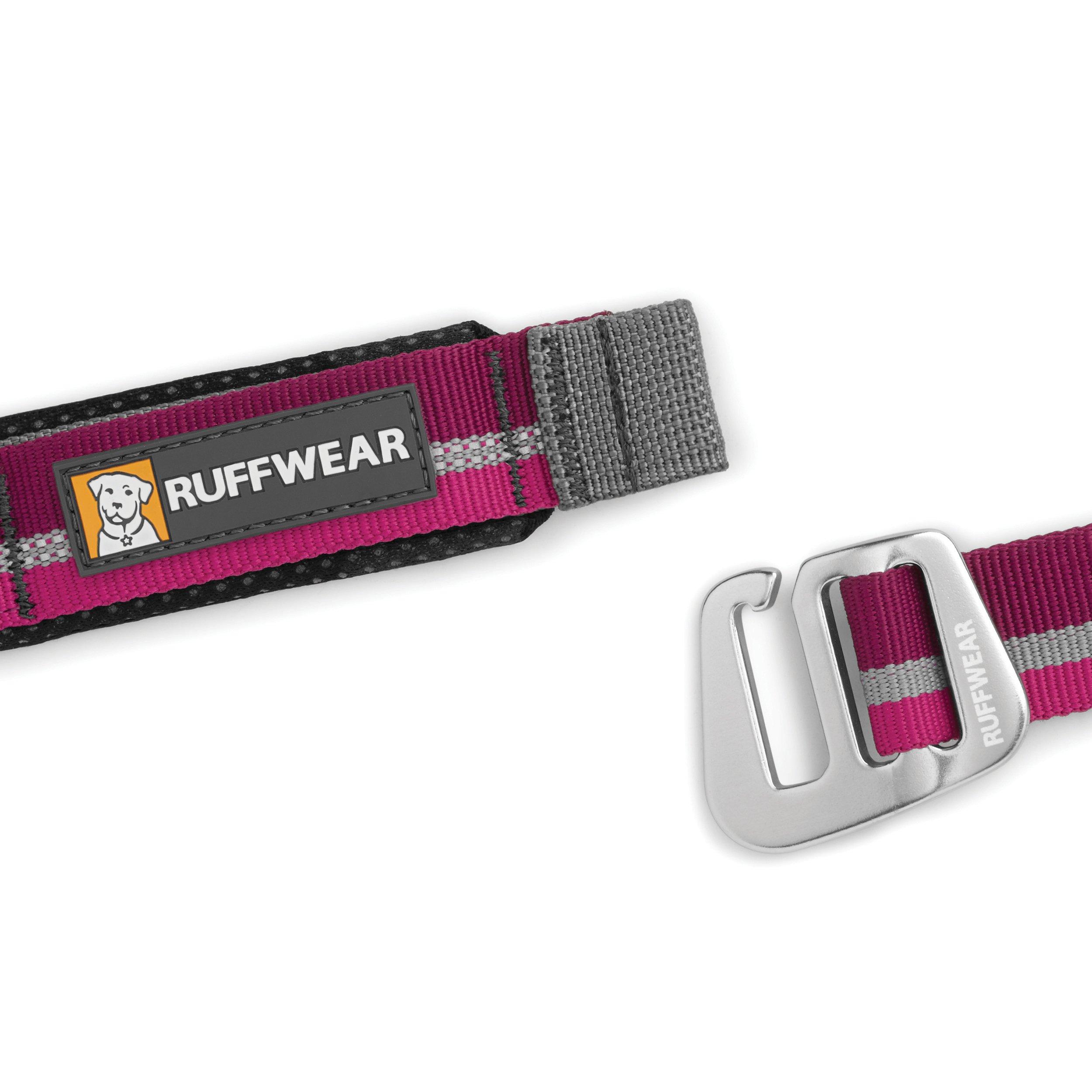 RUFFWEAR - Slackline Adjustable Length, Hand-Held or Waist-Worn Dog Leash, Purple Dusk