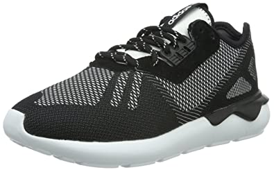 premium selection 3d1ad d2db5 adidas Men s Tubular Runner Weave Running Shoes, Schwarz Core Black FTWR  White, ...