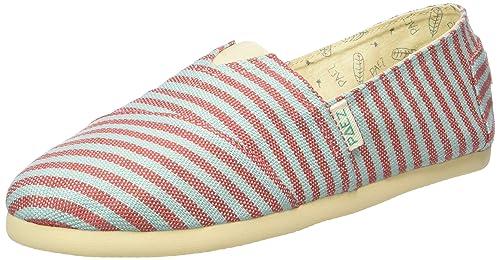 Paez Original Eva Surfy Portugal, Alpargatas Unisex Adulto, (Red, Turquoise 0067), 41 EU: Amazon.es: Zapatos y complementos