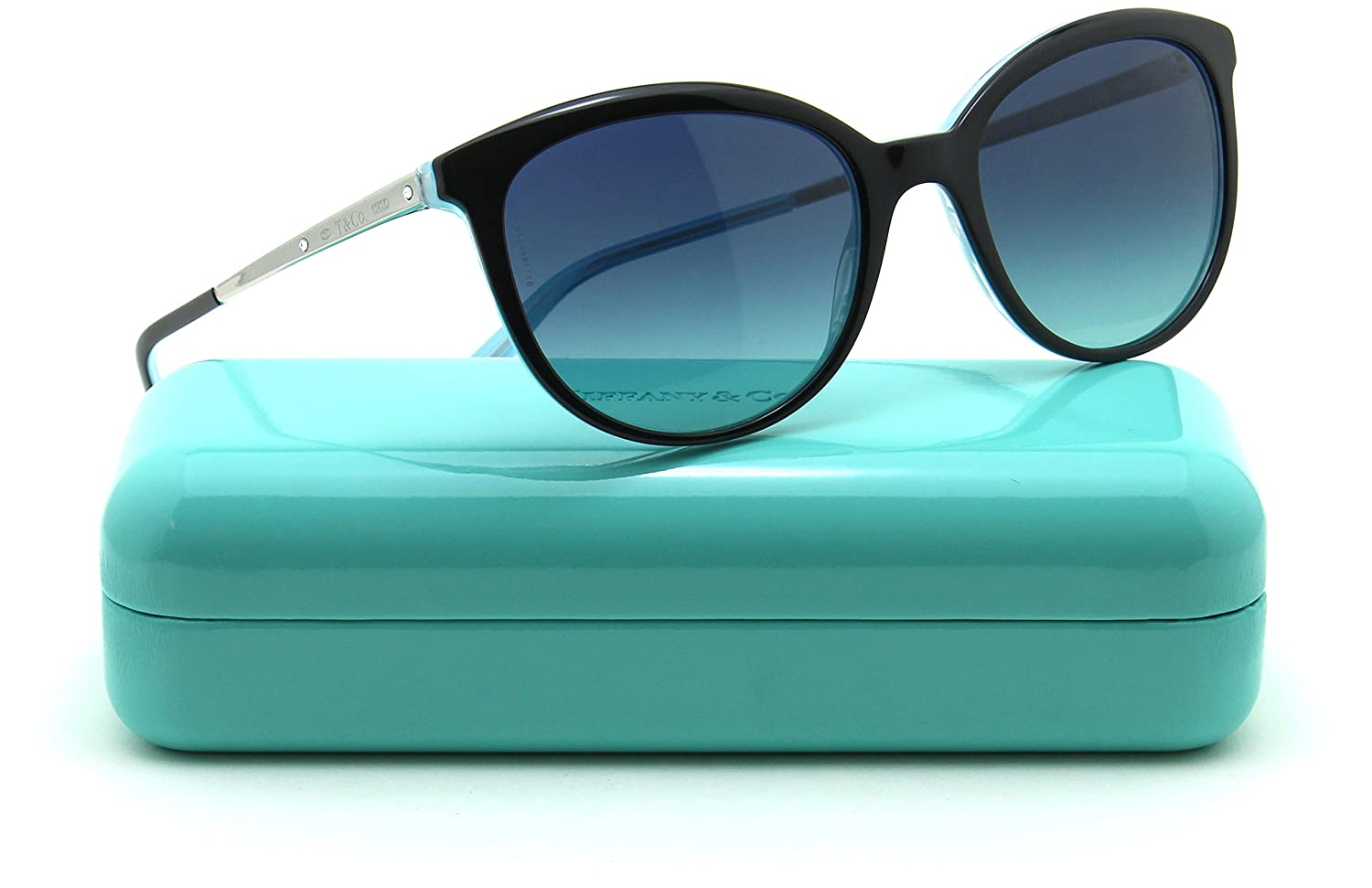dba53af015 Tiffany   Co. TF 4117B Women Sunglasses Azure Blue Gradient 81939S   Amazon.in  Clothing   Accessories