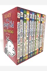 Diary of a Wimpy Kid 12 Books Complete Collection Set New(Diary Of a Wimpy Kid,Rodrick Rules,The Last Straw,Dog Days,The Ugly Truth,Cabin Fever,The Third Wheel,Hard Luck,The Long Haul,Old School..etc Paperback