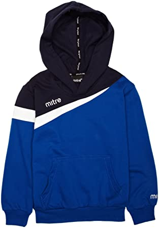 Mitre - Sudadera de fútbol para niño, color azul, talla UK: Large/30-32: Amazon.es: Deportes y aire libre