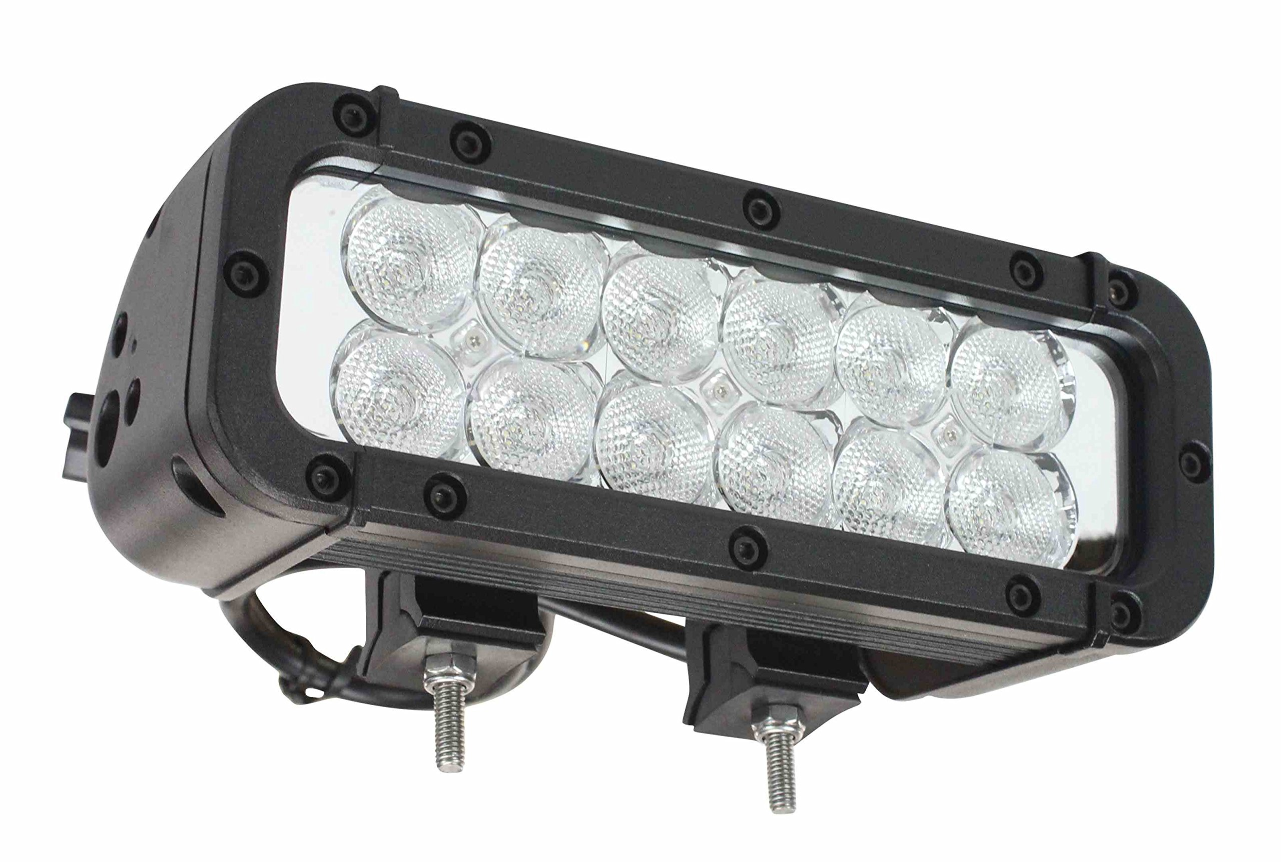 Infrared LED Light Emitter - 9-42 Volts DC - 550'L X 70'W Spot Beam - 12 Infrared Emitters LEDs