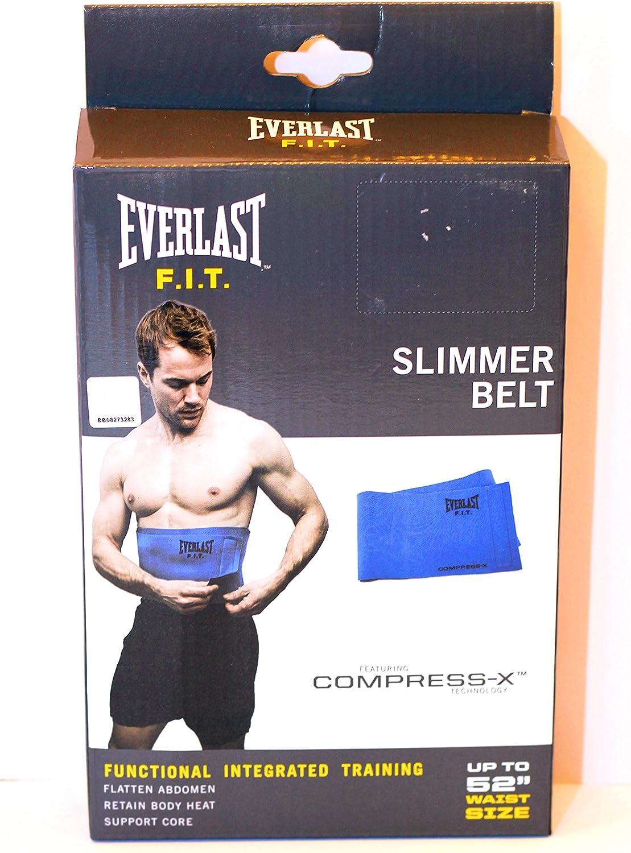 Everlast F.I.T. Slimmer Belt Up To 52 Waist Size, Blue
