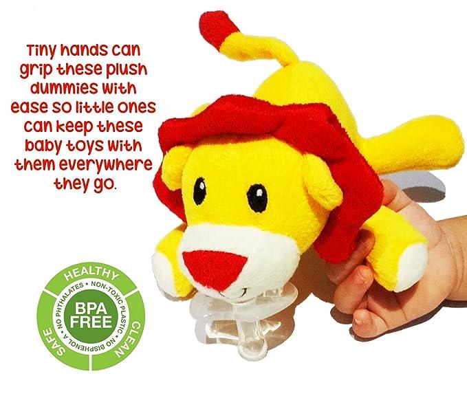 La felpa suave Lion - Juguetes para bebés Chupete