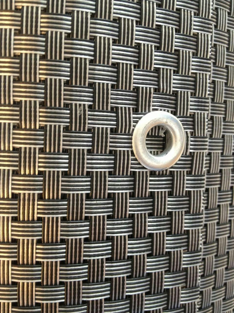 Balcony Privacy Wind Shield Copper copper  Smart Decorative Rattan 200x90cm Balcony and Garden Privacy Screen