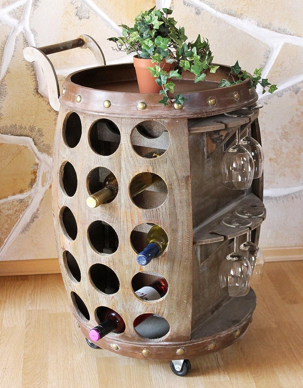 Famoso Scaffale vino per 30 bottiglie Porta-vivande 1499 Botte vino in  JW65
