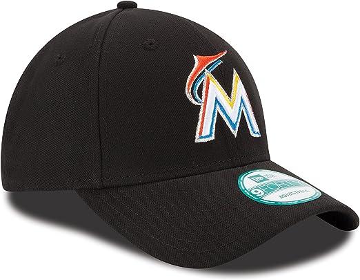 New Era The League Miami Marlins Hm Gorra, Hombre, Negro (Black ...