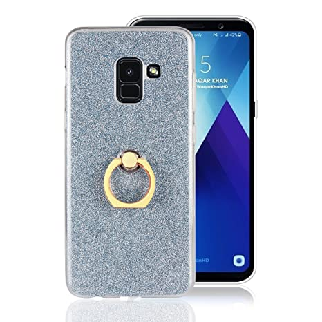 Amazon.com: for Samsung Galaxy A8 2018 Glitter Case with ...