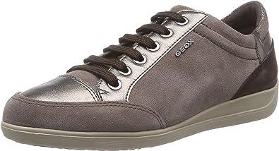 lapso Crónica Embajador  Geox D Myria - Zapatillas de Deporte para Mujer: Amazon.es: Zapatos y  complementos