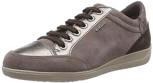 Geox D Myria - Zapatillas de Deporte para Mujer: Amazon.es: Zapatos y complementos