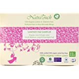 Natratouch Organic Cotton Sanitary Pads and Panty Liners - Sampler Pack -6 sizes (22 pieces)