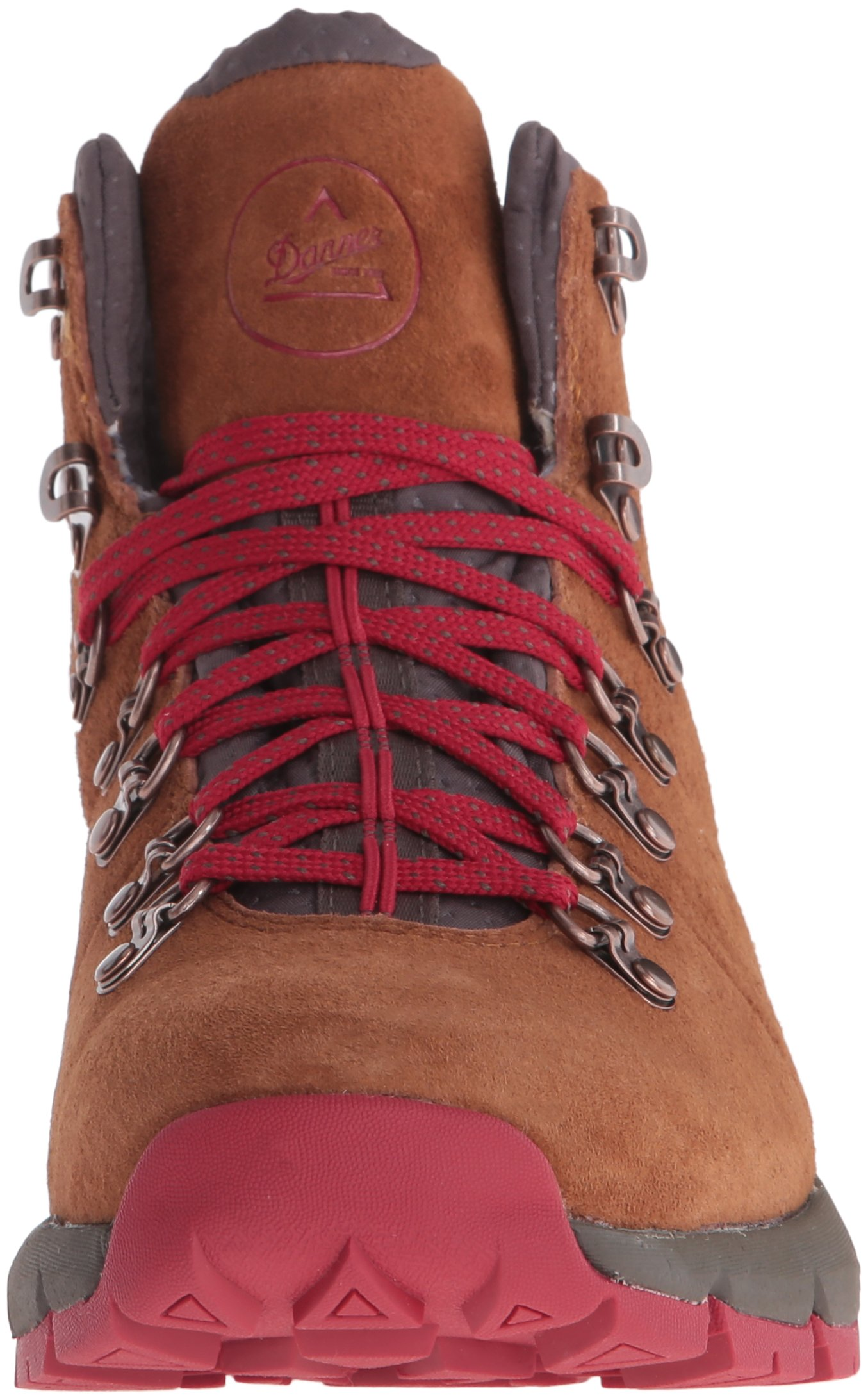 Danner Women's Mountain 600 4.5'' Hiking Boot, Brown/Red, 8.5 M US by Danner (Image #4)