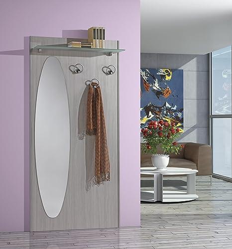 Composizione per ingresso art. 693 con specchio, mensola vetro e tre ...