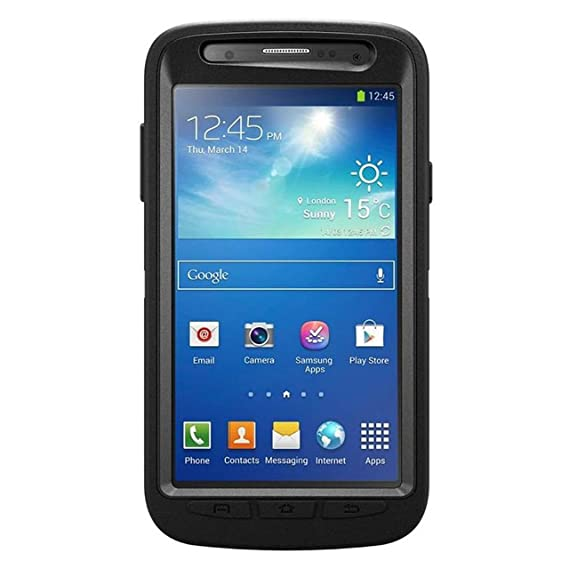 timeless design 0fa8f 3052c OtterBox 77-30491 Defender Case for Samsung Galaxy S4 Active - Black