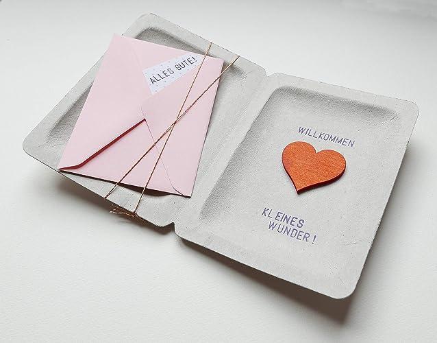 Geburt Taufe Geldgeschenk Box Karte Mädchen