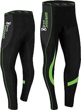 Mallas de ciclismo acolchadas de invierno, pantalones térmicos ...