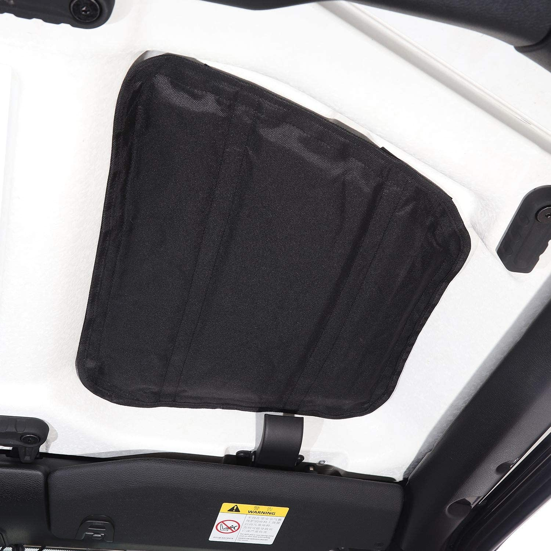 RT-TCZ JL Headliner Hardtop Heat Insulation Kit Rear Window Ceiling Roof Insulation Cotton Kit for Jeep Wrangler 2018-2021 JL 4 Door