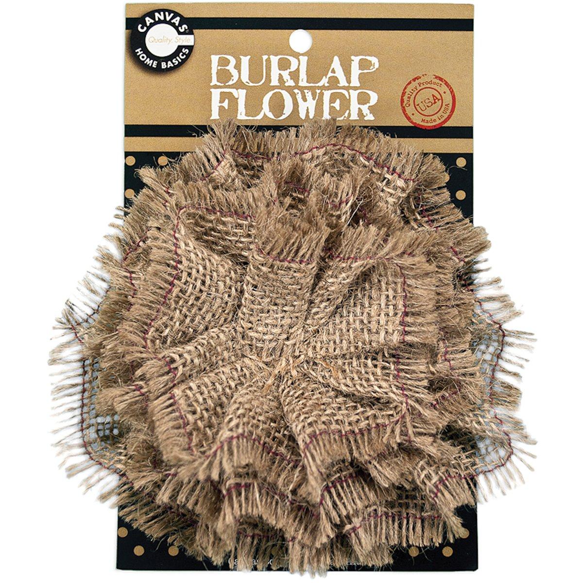 CCB Burlap Flower