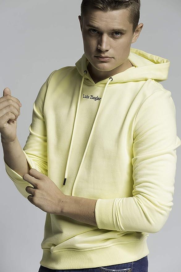 Luis Ziegler Sweet Yellow LZ Hoodie Kapuzenpullover: Amazon