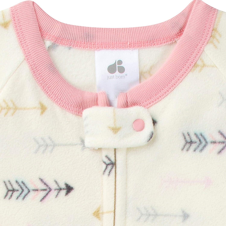 Just Born Baby Girls 2-Pack Blanket Sleeper