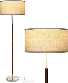 Brightech Carter LED Mid Century Modern Floor Lamp