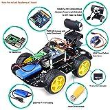 Kuman Professional WIFI Smart Robot Car kit for