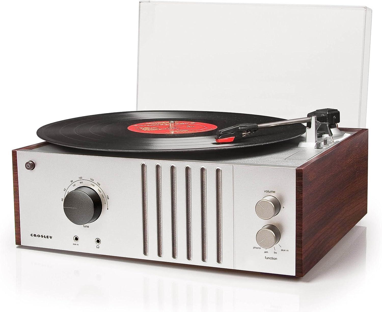 Amazon.com: Crosley jugador Turntable Mahogany: Home Audio ...