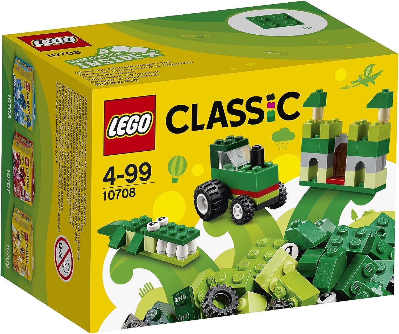 LEGO Classic - Caja creativa de color verde (10708): Amazon.es: Juguetes y juegos